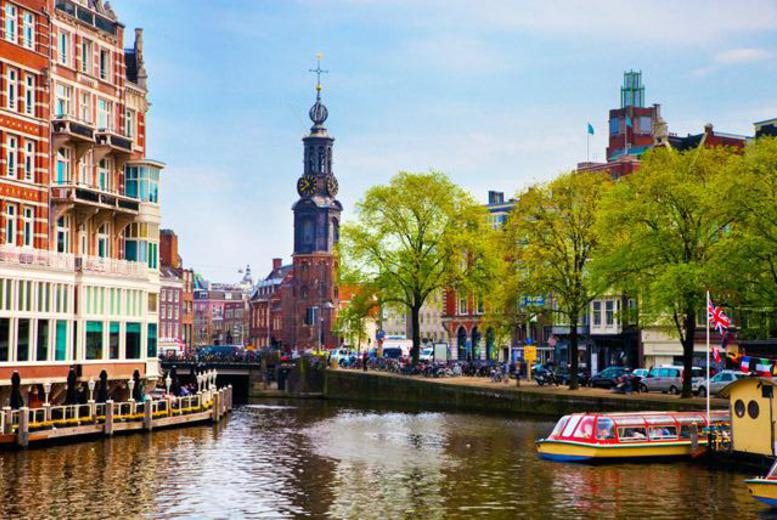From £99pp instead of up to £173.12pp (from iFly) for a 2nt 4* Amsterdam break inc. flights, from £129pp for 3nts - sav