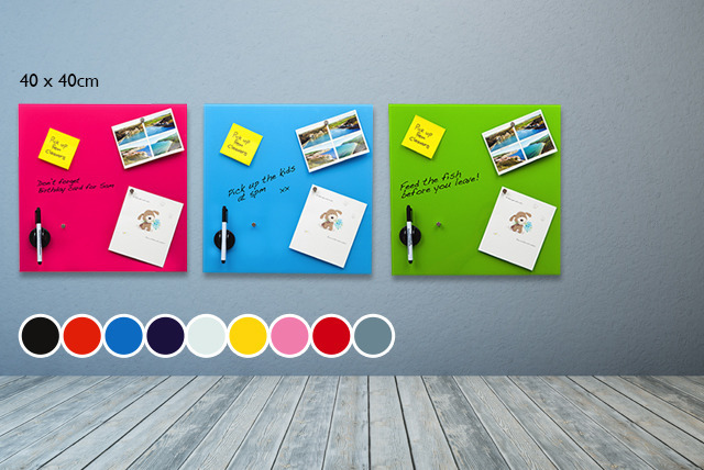 £15 instead of £65 (from Homeware Ltd) for a glass magnetic memo board in your choice of 12 colours - save 77%
