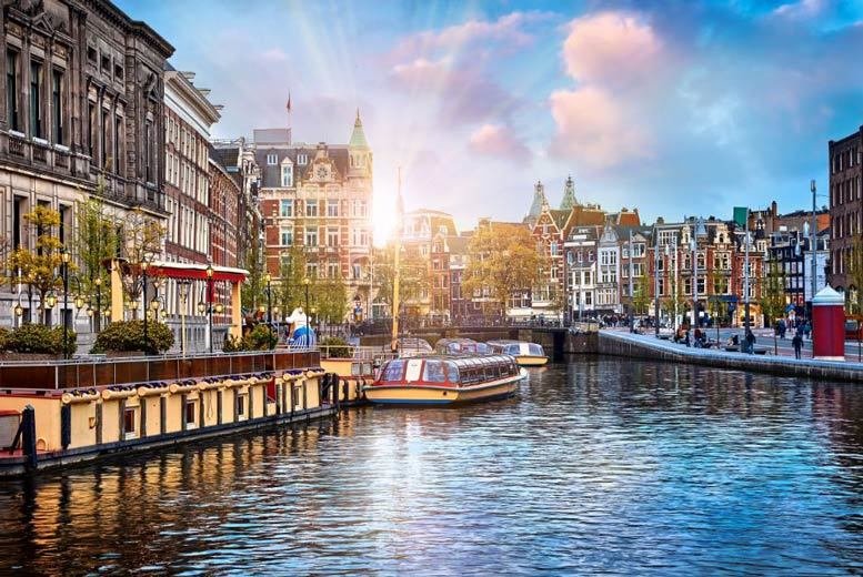 European City Breaks: 2-3nt 4* Amsterdam Spa Break & Flights @ Inntel Hotel