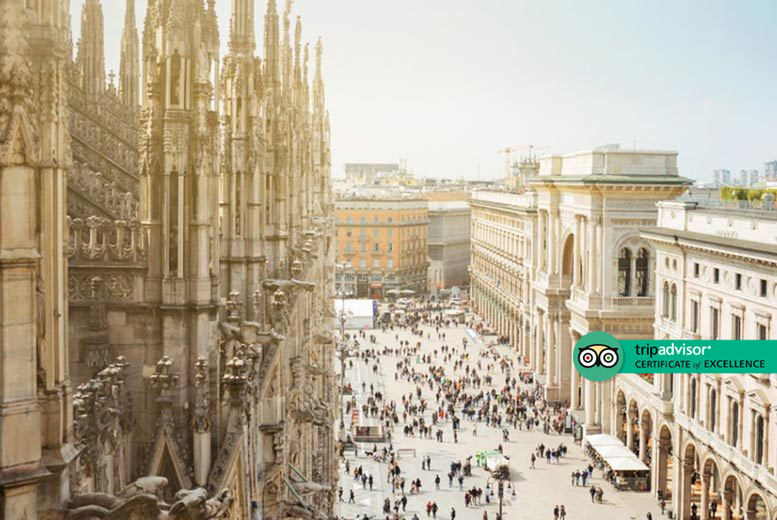 From £89pp (from Weekender Breaks) for a two-night 4* Milan stay with breakfast and return flights, or from £129pp for three nights - save up to 38% from Weekender Breaks