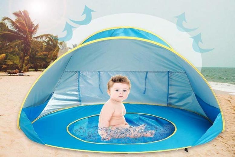 Baby Beach PopUp Tent w/ Sunshade & BuiltIn Pool
