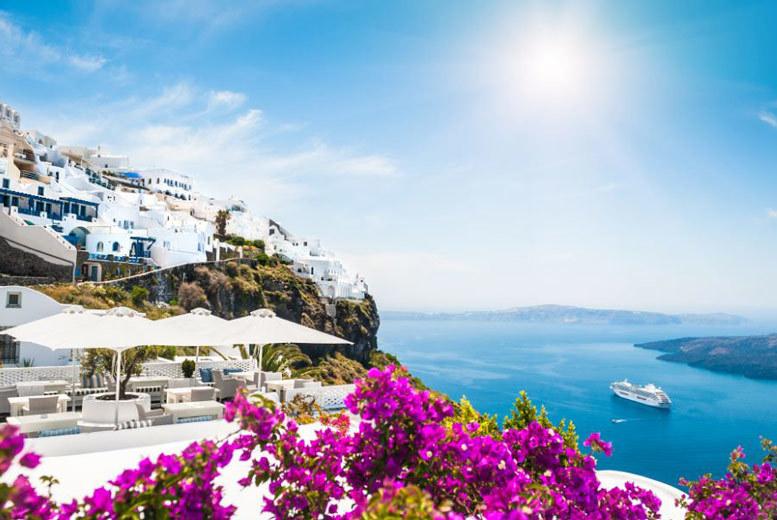 4-7nt Santorini Beach Holiday, Breakfast & Flights