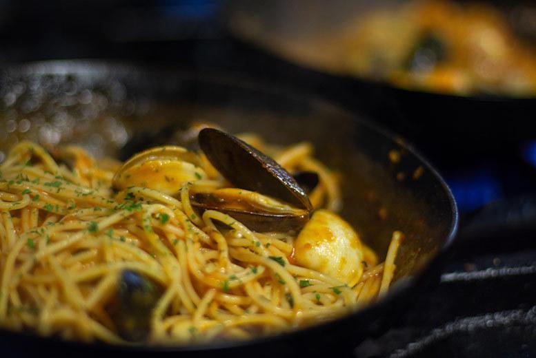 Restaurants & Bars: Italian Dining for 2 @ Esca, Merchant City - Wine Option!