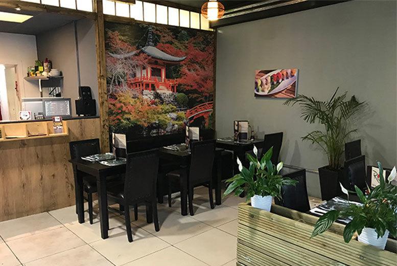 Restaurants & Bars: 26pc Sushi Platter & Drink for 2 @ IRO Sushi - 2 Locations!