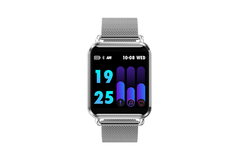 Apple Compatible 25-in-1 Smart Watch w/ HR Monitor 4 Colours!