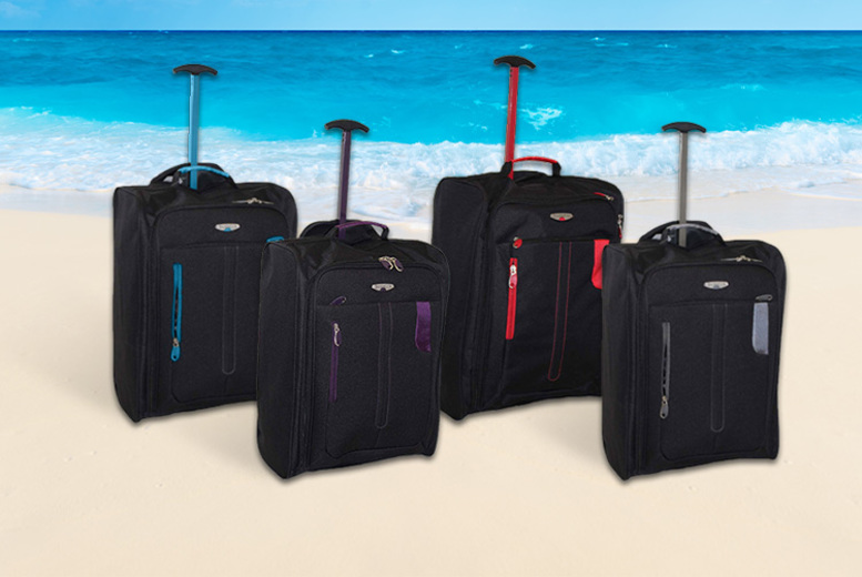 CabinApproved Wheelie Hand Luggage  2 Colours!