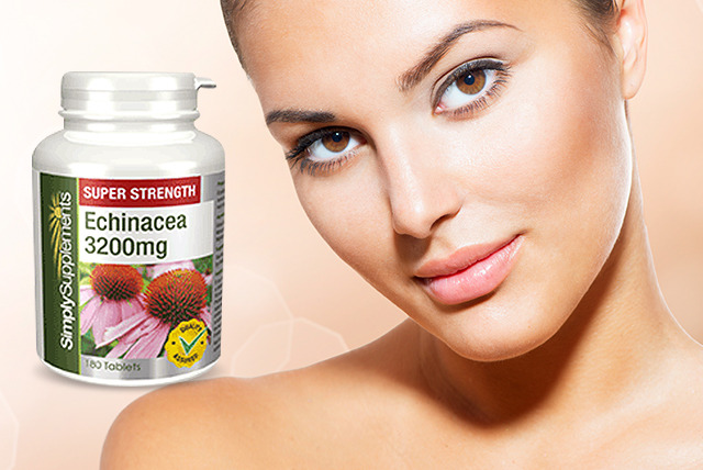 £6.25 instead of £12.49 (from Simply Supplements) for 120 echinacea herbal supplements, or £14.49 for 360 - save up to 50% + DELIVERY INCLUDED