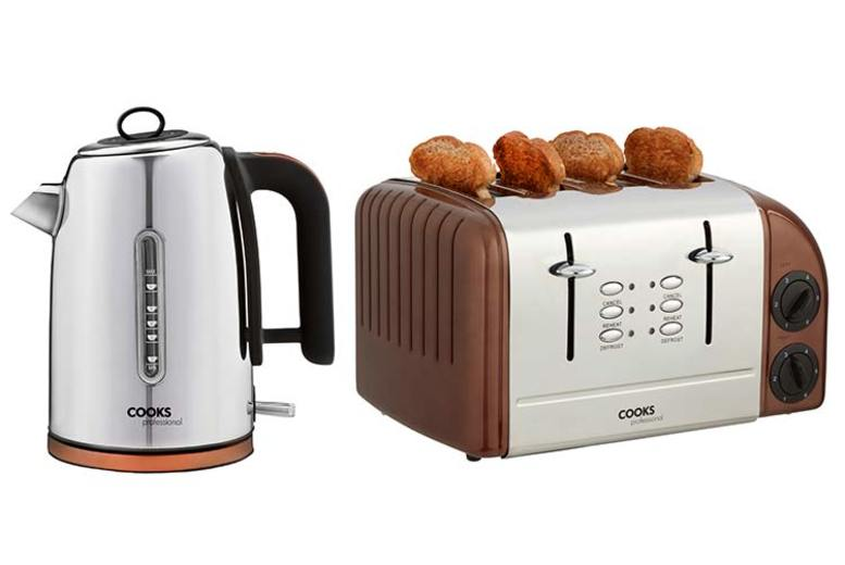 Cooks Professional Kitchen Kettle & Toaster Set - 2 Colours!