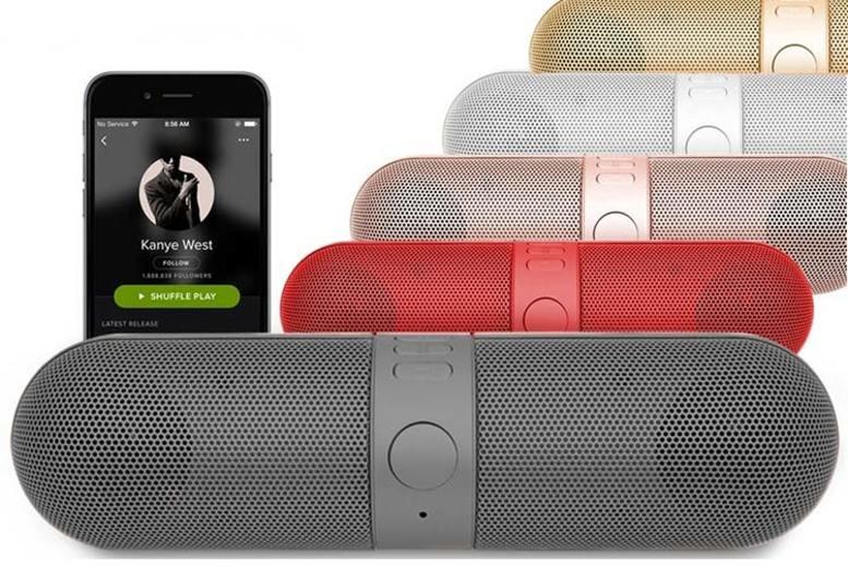 Wireless Bluetooth Capsule Speaker  5 Colours!