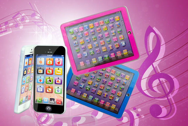 £13.99 instead of £49.98 (from D2D) for a children's black or white Y-Phone and pink or blue Y-Pad - save 72%