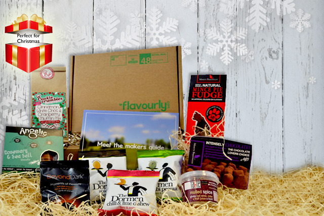 £8 instead of £18 (from Flavourly) for a Christmas Flavourly box including a mulled wine making kit, mince pie fudge and more - save 56%