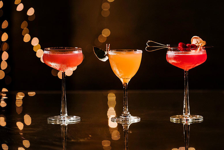 Restaurants & Bars: Two Course Dining & Gin Cocktails For 2 or 4 @ Pleased To Meet You