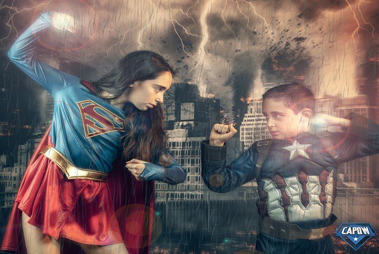 Activities: CAPOW Superhero Photoshoot & Print @ CAPOW - 30 Studios!