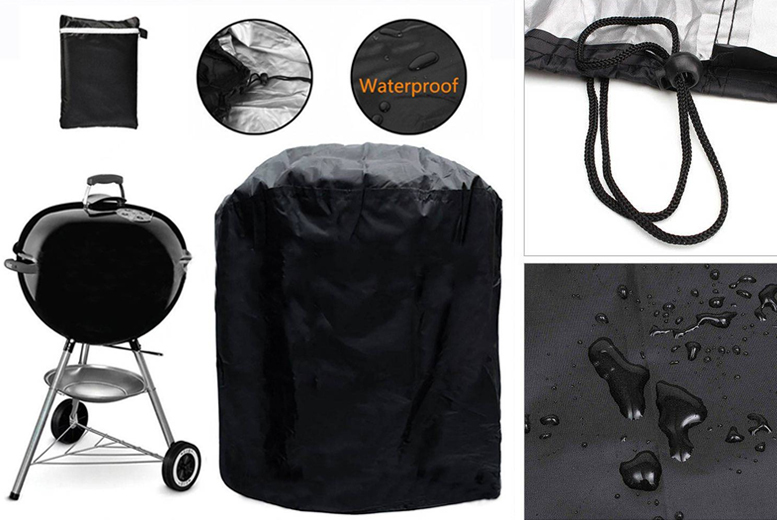 Waterproof Round BBQ Cover - 2 Sizes!