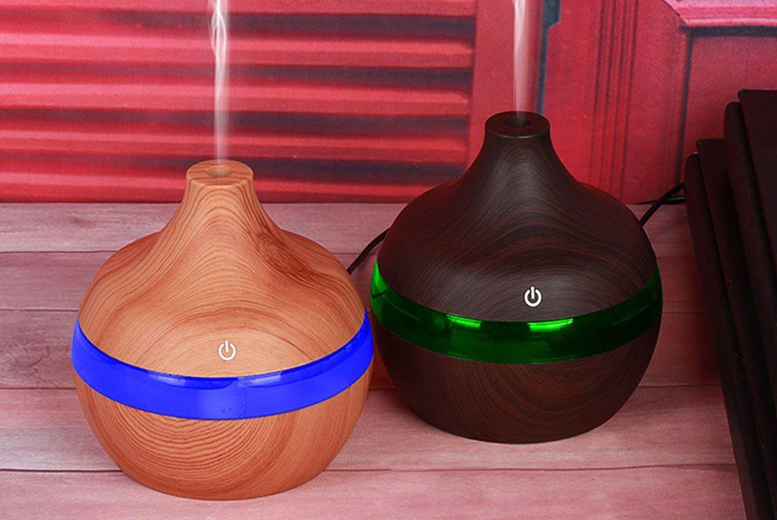Aroma Essential Oil Electric Humidifier  2 Colours!