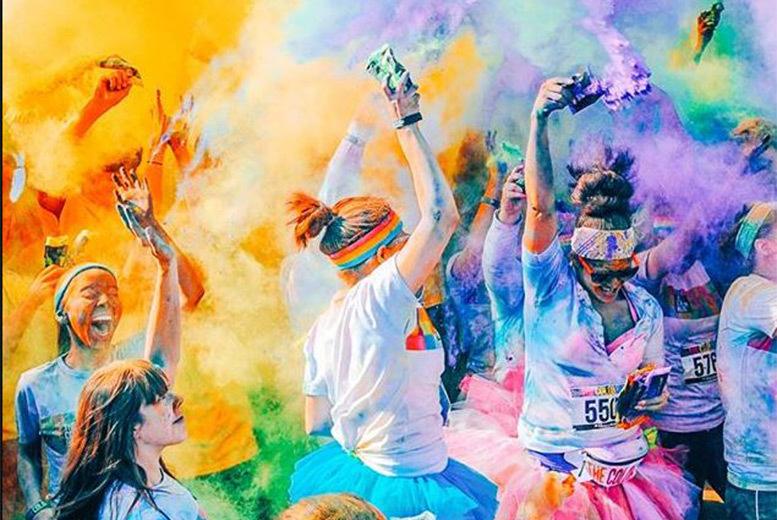 Activities: 5k Color Run & Race Pack - 3 Locations!