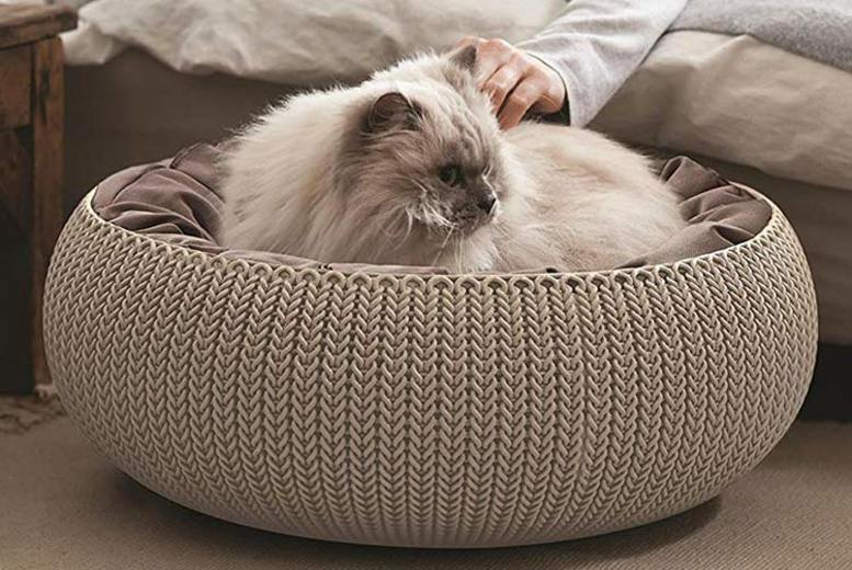 Cosy Keter Knit Pet Bed