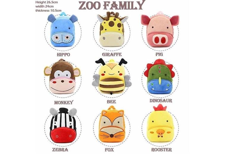 Kids' Plush Animal Backpack  33 Styles!