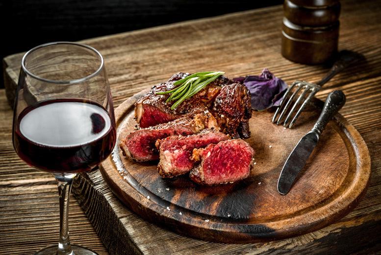 Restaurants & Bars: Steak Dining For 2 Or 4 @ Bazil Brasserie – Wine Option!