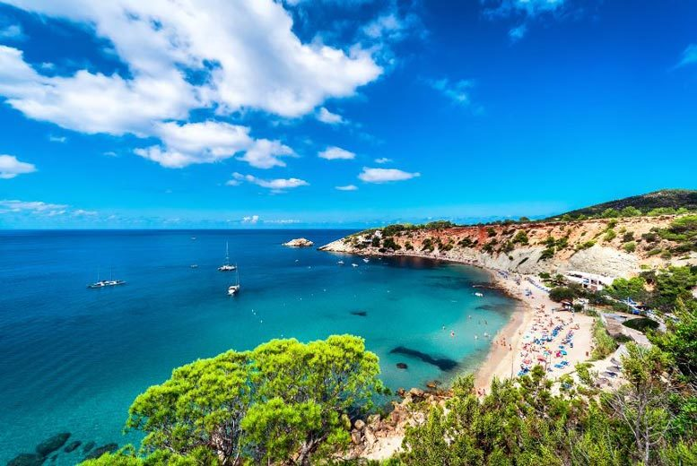 Beach Holidays: 3-7nt Ibiza Escape, Breakfast & Flights @ Playasol Marco Polo Hotels