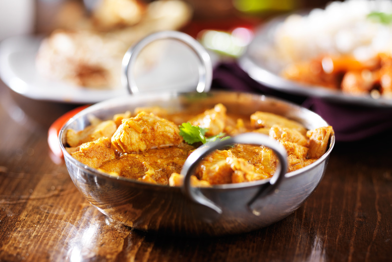Restaurants & Bars: £30 or £60 Indian Dining Spend for 2 or 4