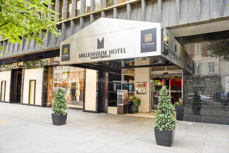 Restaurants & Bars: Sharing Platter and Wine for 2 @ 4* Millennium Hotel, Hyde Park