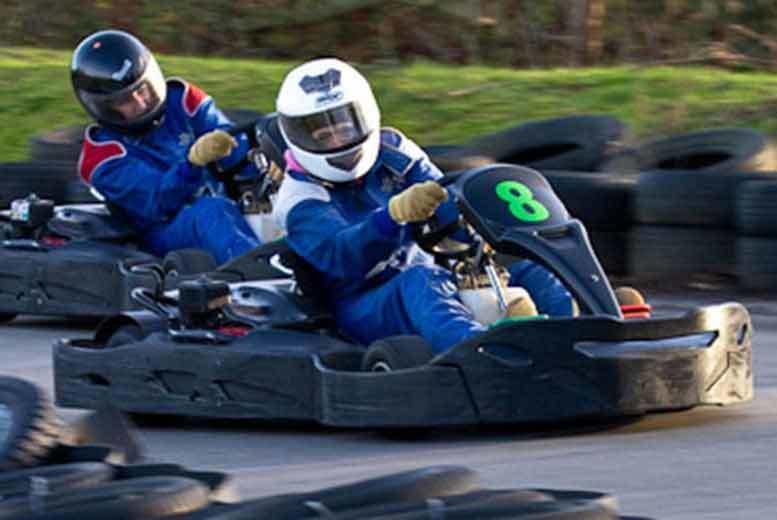 Activities: 80 Lap Go Karting Experience @ West Country Karting, Bristol - For 1, 2 or 4