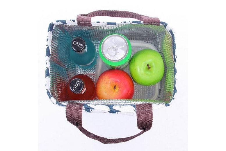 Printed Picnic Lunch Bag - 5 Designs!