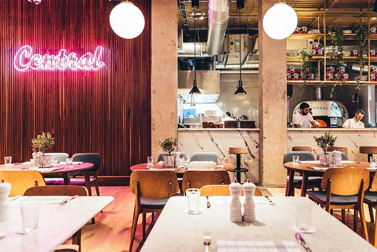 Restaurants & Bars: 2-Course Sunday Lunch & Wine for 2 or 4 @ Central Oven & Shaker