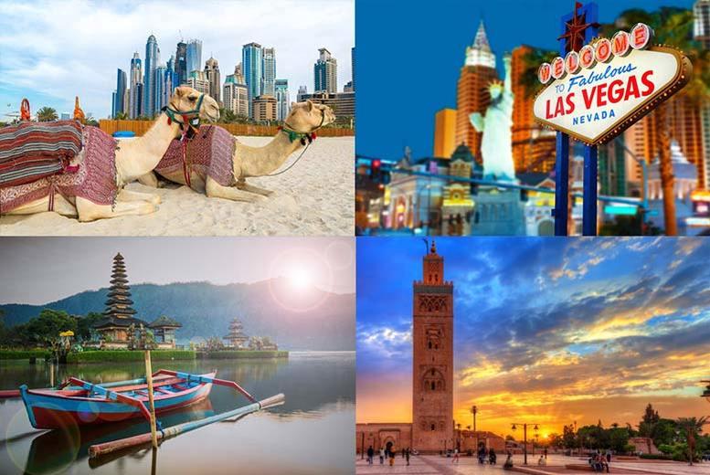 Mystery Holiday – New York, Bali, Iceland, Dubai, Disneyland & More!