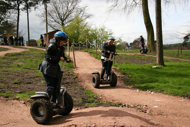 £16 instead of £49 for a 1-hour Segway obstacle experience for 1, or £29 for 2 people at Madrenaline, Heaton - save up to 67%