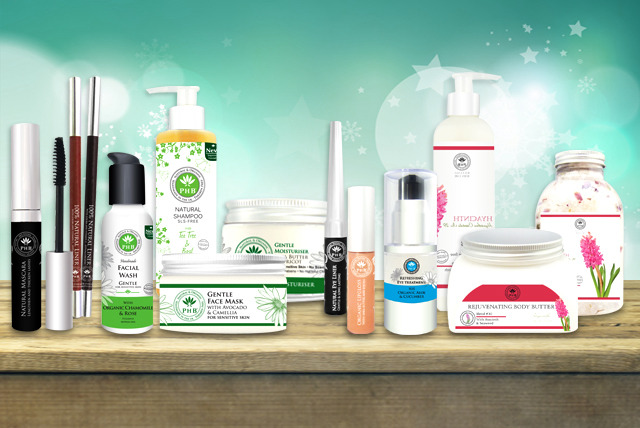 £10 for a £20 voucher to spend on PHB Ethical Beauty website - save 50%