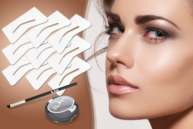 £13 instead of £42.50 (from Ilah) for a brow kit inc. 9 stencils, powder and brush or £15 for a luxury travel kit - save up to 69% + DELIVERY INCLUDED