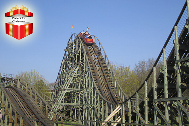 £6 for a ticket to Gulliver's World Theme Park in Warrington - ride the Christmas rollercoaster and have a great day out!