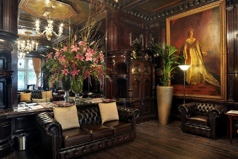 Restaurants & Bars: Chocolate Afternoon Tea & Prosecco for 2 @ 4* Grand Royale, Hyde Park