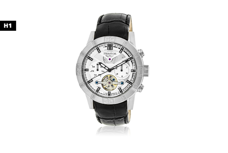 Men's Heritor Luxury Watch - 6 Designs!