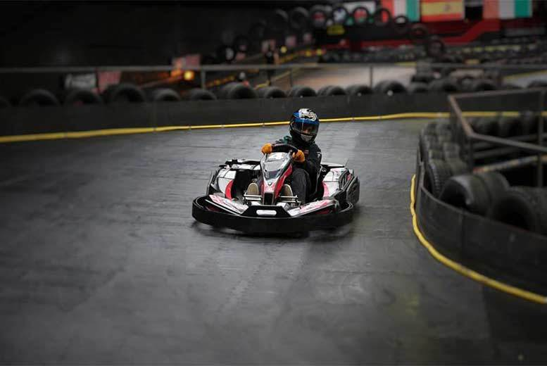 Activities: 50 Laps Of Go-Karting @ Cannon Raceway, Bilston - 1 Or 2 People!