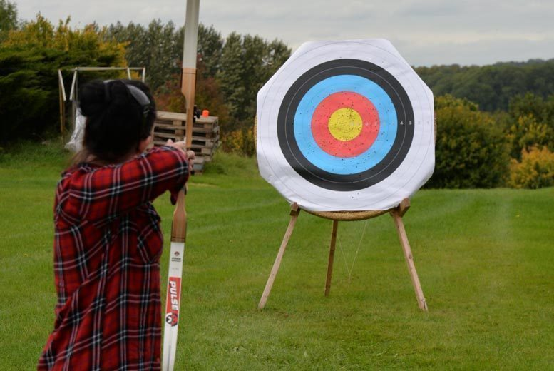 Activities: 1hr Archery Experience, Thurlaston for 2 - Family of 4 Option!