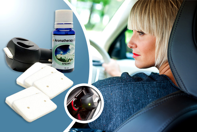 £9.99 instead of £24.99 (from Purer Air) for an essential oils car scenter - save 60%