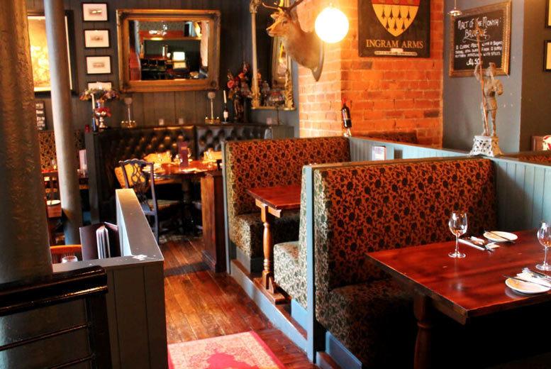 Restaurants & Bars: 3-Course Dining for 2 or 4 @ Ingram Wynd