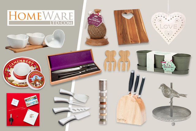 £10 for a £30 voucher to spend on home and giftware at Homeware Ltd.com - save 67%