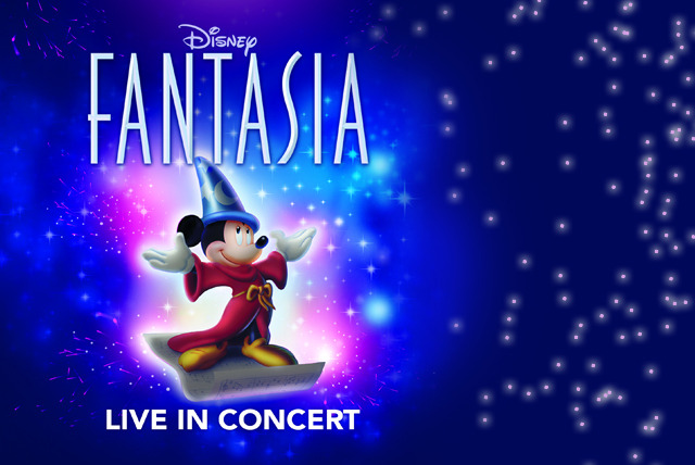 £20 for a top-price ticket to see 'Disney Fantasia: Live in Concert', £22.50 for a premium ticket in Glasgow, Manchester or Birmingham - save 50%