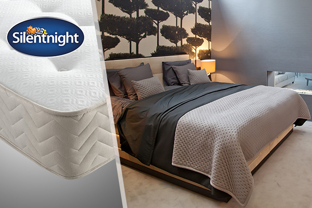 £169 for a single Silentnight Comfort Pocket 1000 Memory Mattress, £229 for a double, £259 for a king from Wowcher Direct – save up to 50%