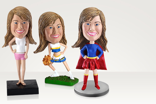 £29.90 instead of £59.90 (from 1MiniMe) for a handmade custom bobblehead - save 50%