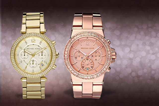 From £179 instead of up to £229 (from Castile Jewellery) for a Michael Kors ladies' watch in a choice of 2 styles - save  up to 22% + DELIVERY IS INCLUDED!