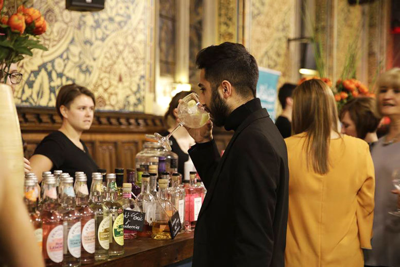 Entertainment: The Gin Society Festival Ticket & Drink for 2 @ 8 Locations!
