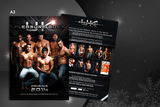 £4.99 instead of £11.99 (from Pleasure Ladies Nights) for a 2014 UK Pleasure Boys calender - save 58% + delivery is included!