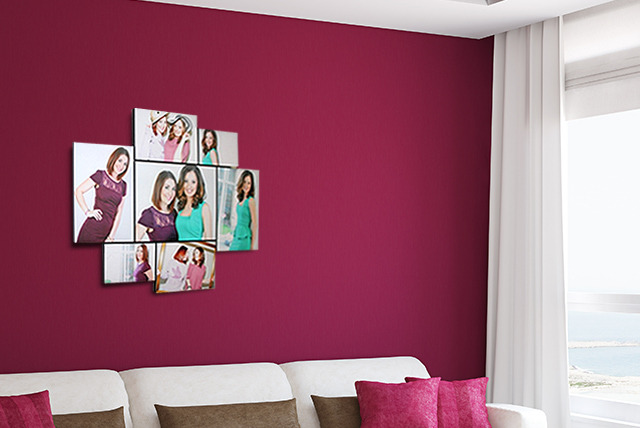 £29.99 instead of £149.95 (from Banana Art) for a set of 7 floating photo prints - save 80%