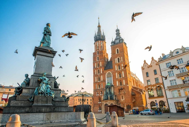 European City Breaks: 2-3nt 4* Krakow Break, Breakfast & Flights - Auschwitz Tour Option!