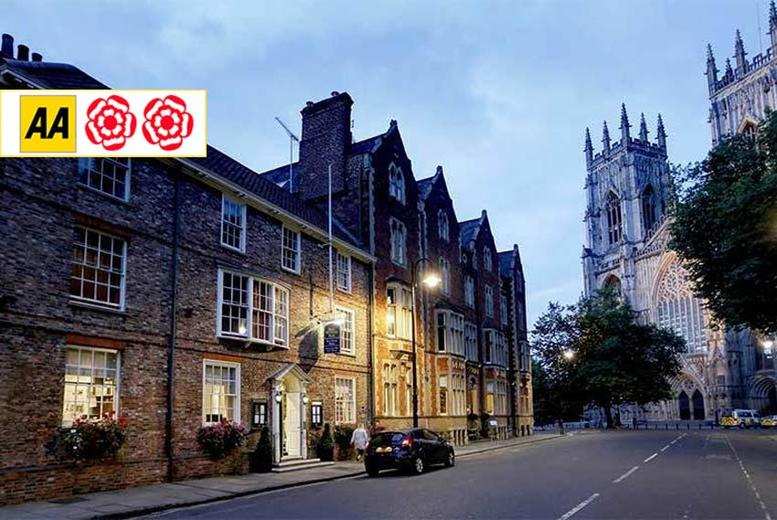Restaurants & Bars: AA Rosette Afternoon Tea For 2, York – Champagne Upgrade!